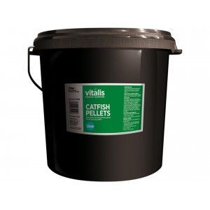 Catfish Pellets S 1,5mm 20kg Vitalis