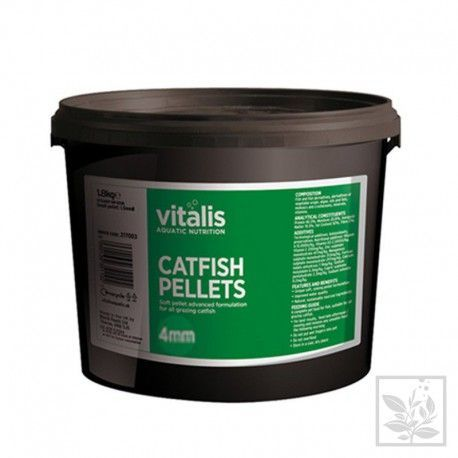 Catfish Pellets S+ 4mm 1,8kg Vitalis