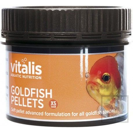 Goldfish Pellets Xs 1mm 60g/150ml Vitalis