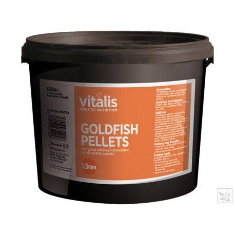 Goldfish Pellets S 1,5mm 1,8kg Vitalis
