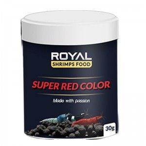 Super Red Color 30g Royal Shrimp Food