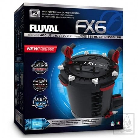 HAGEN FX6- filtr zewnętrzny do akwarium 1500l FLUVAL