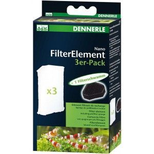 Nano Replacement Filter Element Pack of 3 (5865) Dennerle