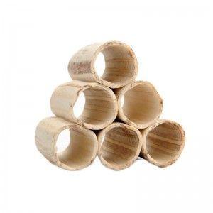 Rurkobloczek krewetkowy (z rurek 555555) jasny 6rurkowy (80 x 80 x 75 mm) Aquanetta