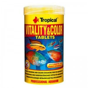 Vitality & Color Tablets 250ml/150g Tropical