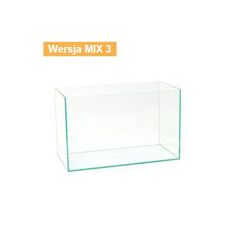 AKWARIUM OPTIWHITE 60x40x40cm (6mm) MIX3