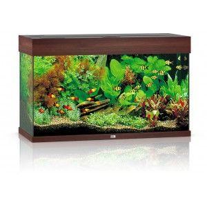 Akwarium Rio 125 T5 ciemne drewno Juwel