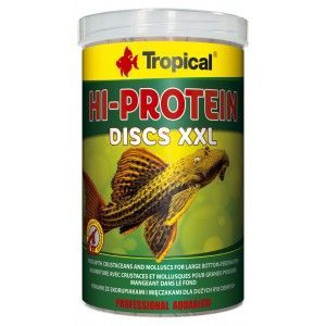 Hi Protein Discs XXL 1000ml/500g Tropical