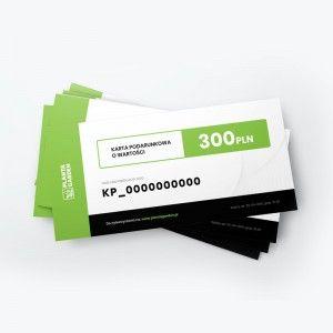 Karta podarunkowa 300 PLN