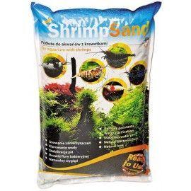 Shrimp sand 4kg Czarny Aqua Art
