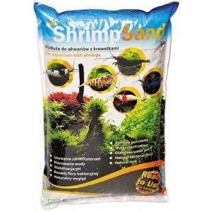 Shrimp sand 4kg Brązowy Aqua Art
