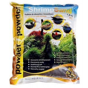 Shrimp sand powder 1,8kg Brązowy Aqua Art