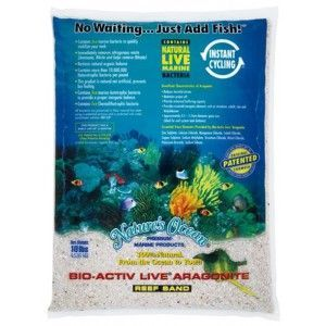 Piasek żywy Natural White 9,07kg Nature`s Ocean