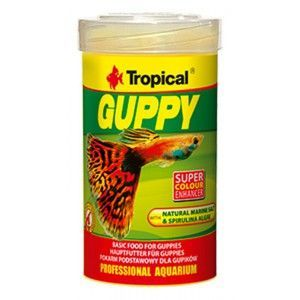 TROPICAL GUPPY250ml/50g