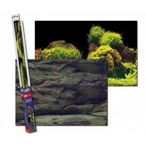 Tło 150x60 Rock/Plants XL Aqua Nova