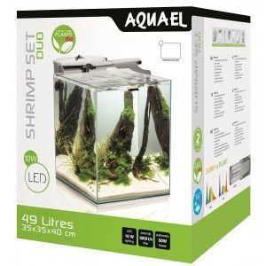 Shrimp Set Duo Aquael BLACK