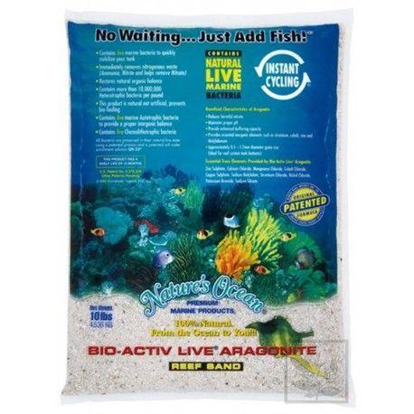 Piasek żywy Natural White 9,07kg Nature`s Ocean