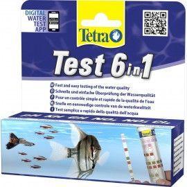 Test paskowy 6in1 25szt Tetra