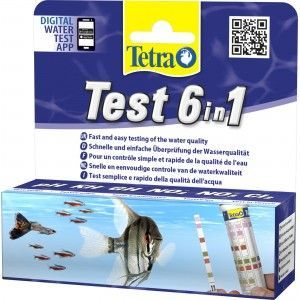 Tetra Test 6in1 [25 pasków]