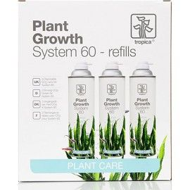 Tropica Plant Growth System 60 Refills 3-pack
