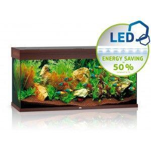 Akwarium Rio 180 LED ciemne drewno Juwel