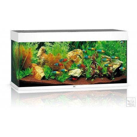 Akwarium z wyposażeniem Rio 180 kolor biały Juwel