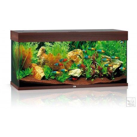 Akwarium z wyposażeniem Rio 180 kolor ciemne drewno Juwel