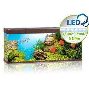 Akwarium Rio 450 LED ciemne drewno Juwel