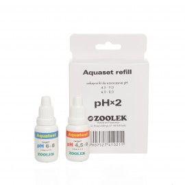Aquaset refill pH x2 Zoolek