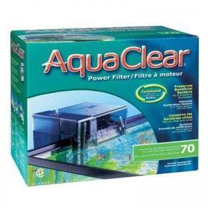 Filtr kaskadowy AquaClear 70 Powerfilter, 6W