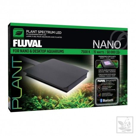 Fluval Nano Plant LED, 12,7 x 12,7 cm, 15 W