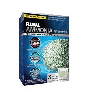 Ammonia Remover Żwirek amonowy 3x180g Fluval
