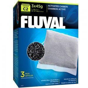 Wkład węglowy do filtra C2, 3x45g Fluval