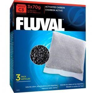 Wkład węglowy do filtra C3, 3x70g Fluval