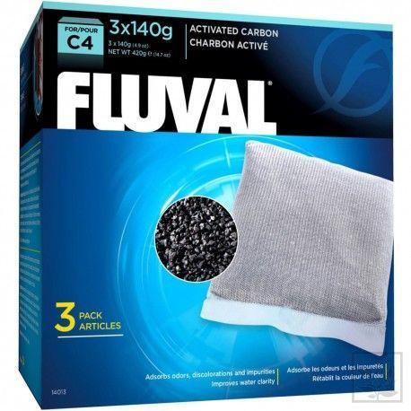 Wkład węglowy do filtra C4, 3x140g Fluval