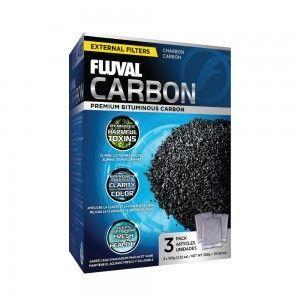 Carbon Węgiel aktywny 3x100g Fluval