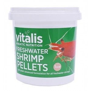 Freshwater Shrimp Pellets 1mm 60g/150ml Vitalis